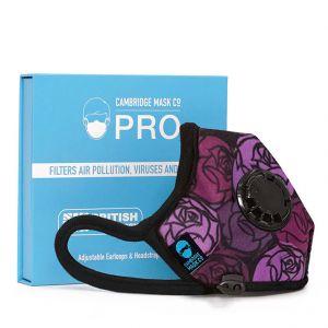 Cambridge Mask Pro The 65 Roses Anti Dust Pollution Military Grade Respirator